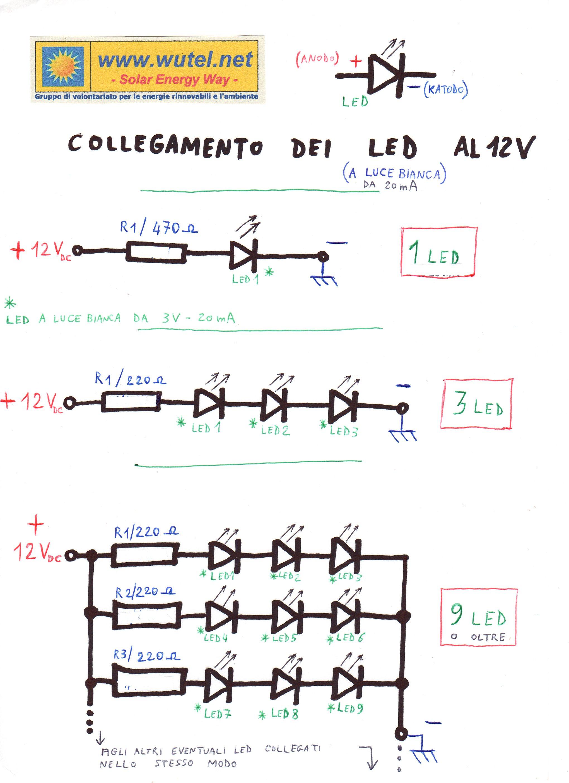 Schemi Elettrici Per Led : Elettronica led auto