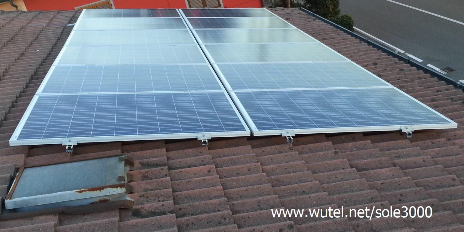 Www.wutel.net fotovoltaico impianti fissi