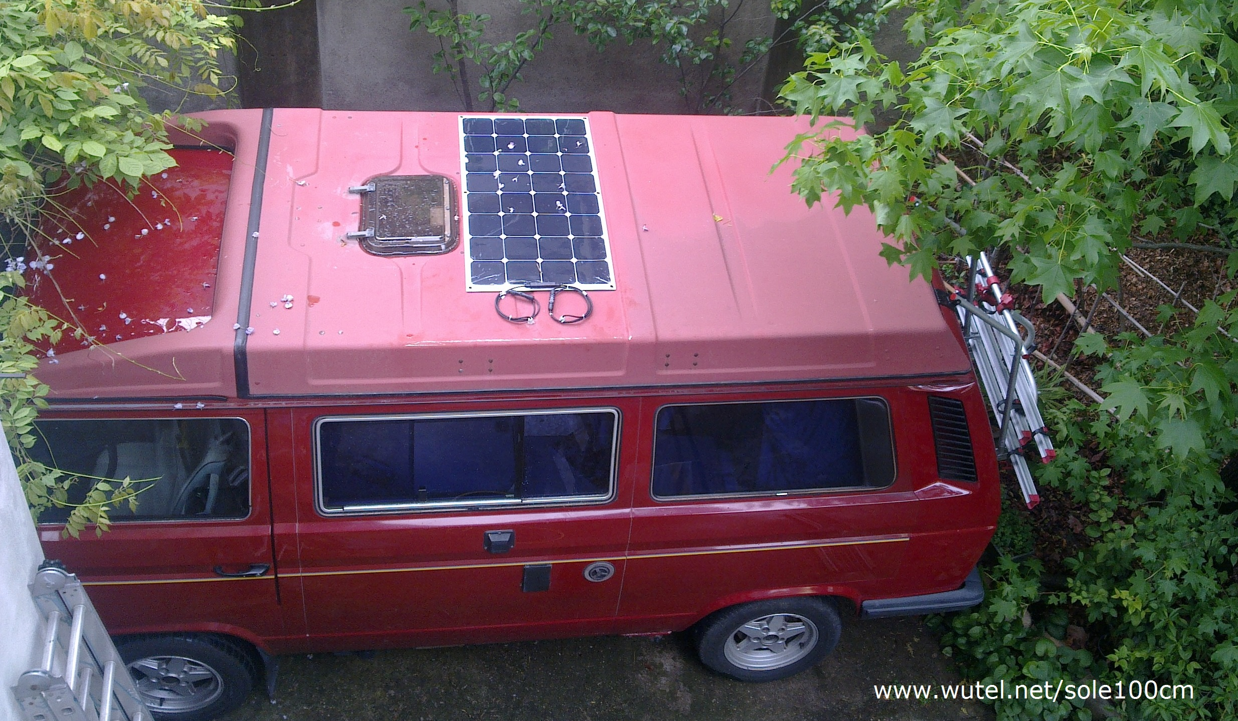 Pannello Solare Per Vw California : Wutel fotovoltaico portatile