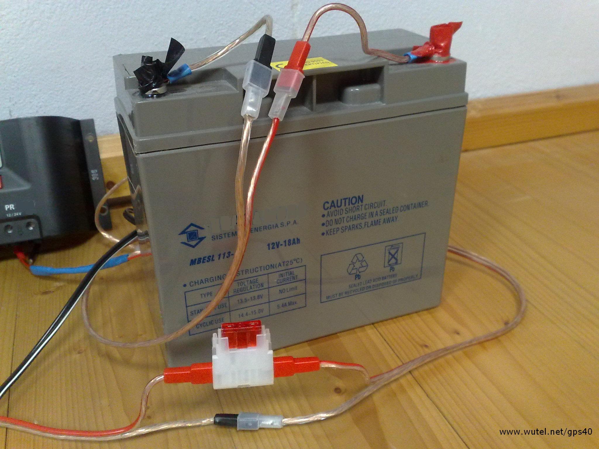 Pannello Solare Per Caricare Batteria Auto : Wutel g p s w
