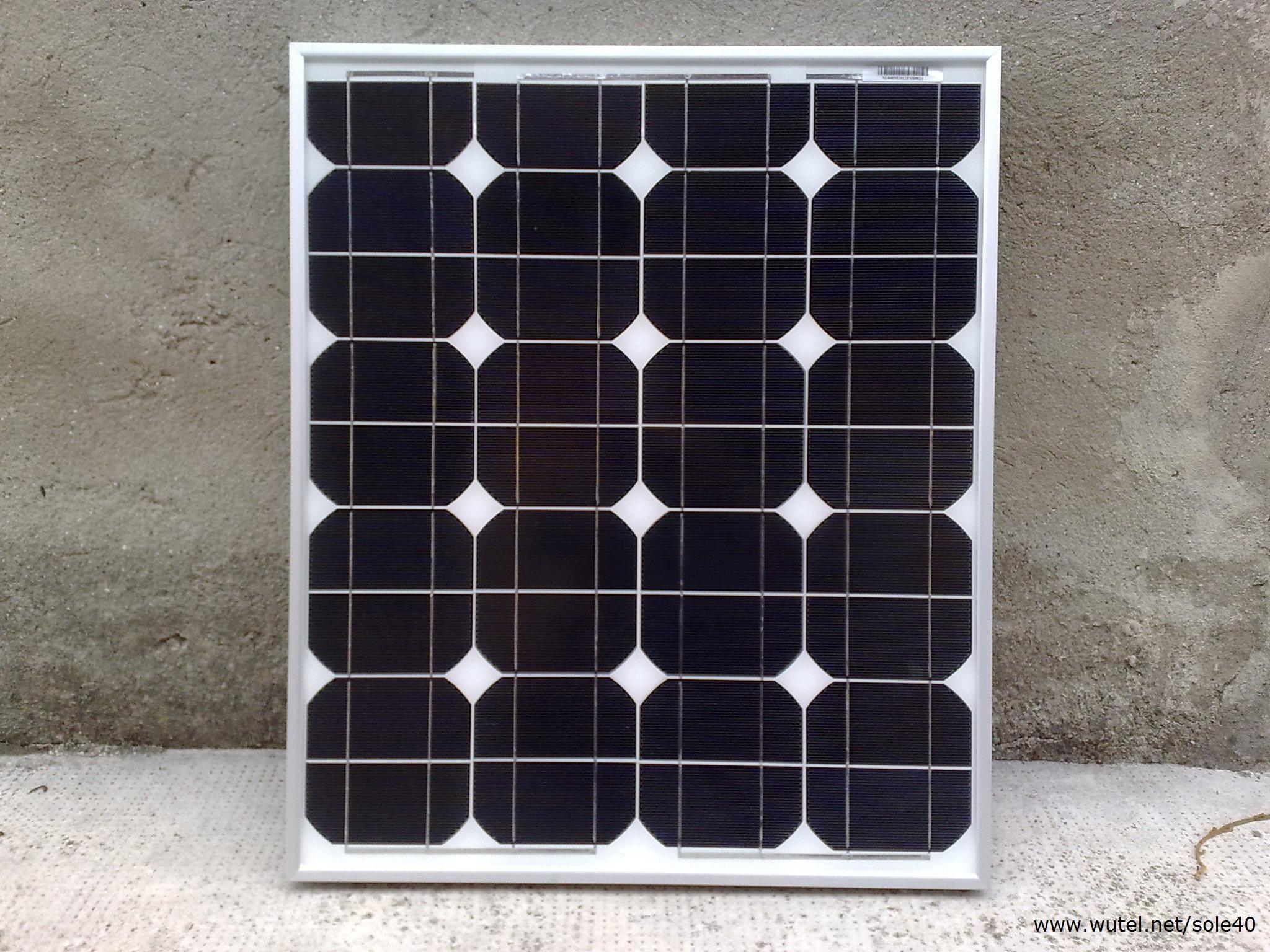 Pannello Solare Flessibile 150 Watt : Wutel g p s w