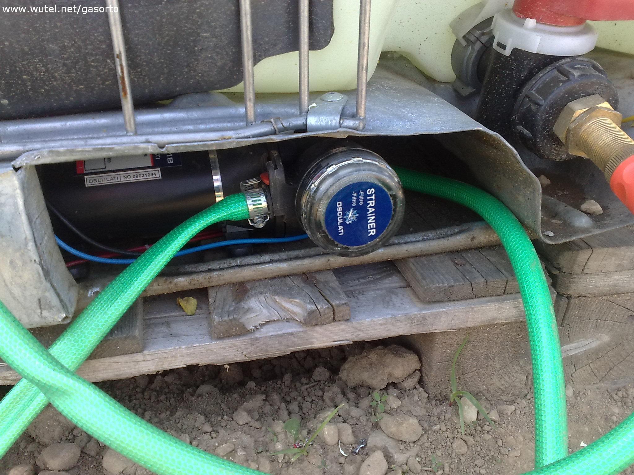 Ortosolare for Pompa per irrigazione