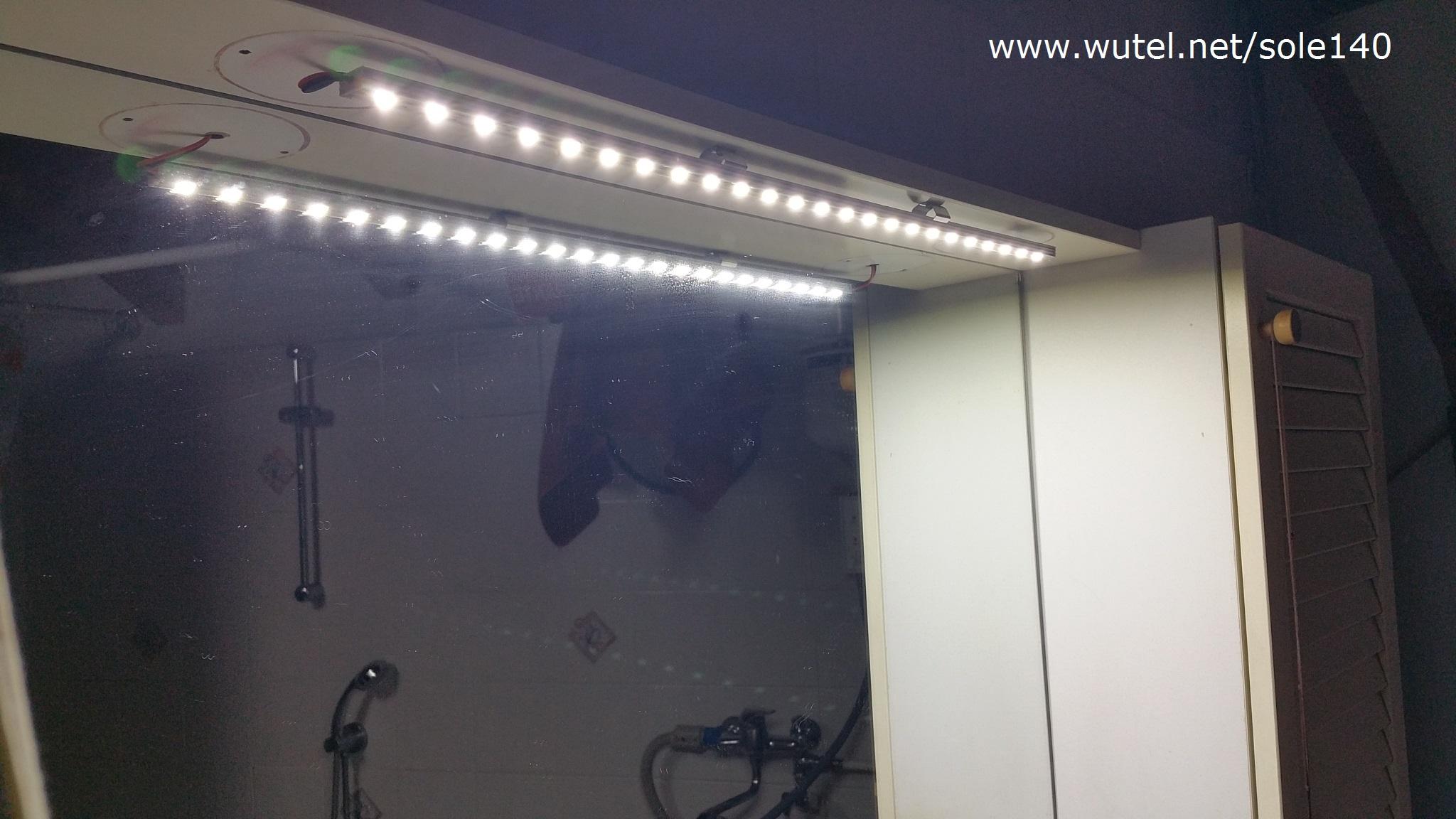 Illuminazione barra led : Www.wutel.net/sole140