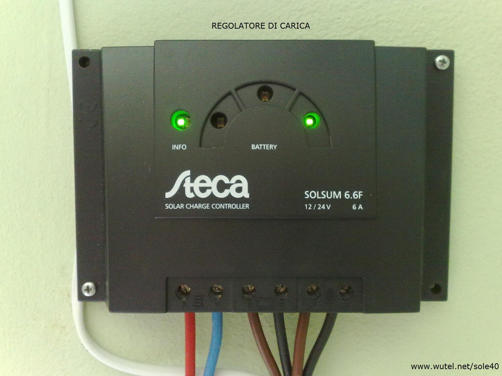 Impianto fotovoltaico per illuminazione giardino illuminazione
