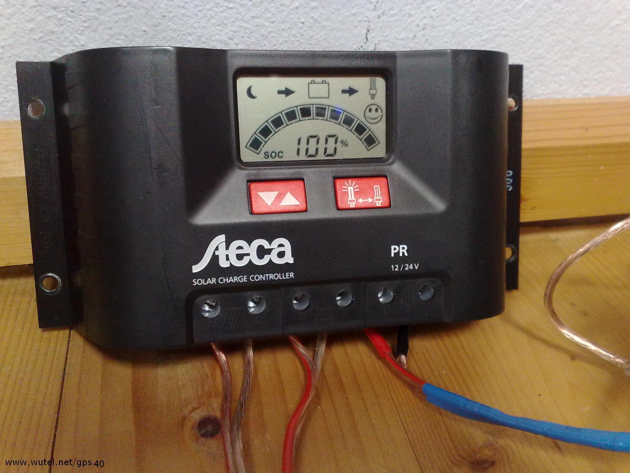 Schema Elettrico Caricabatteria Pannello Solare : Wutel sole