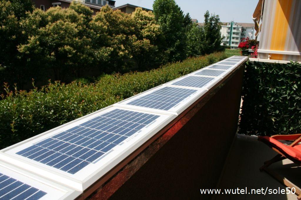 Pannello Solare Per Un Appartamento : Wutel sole