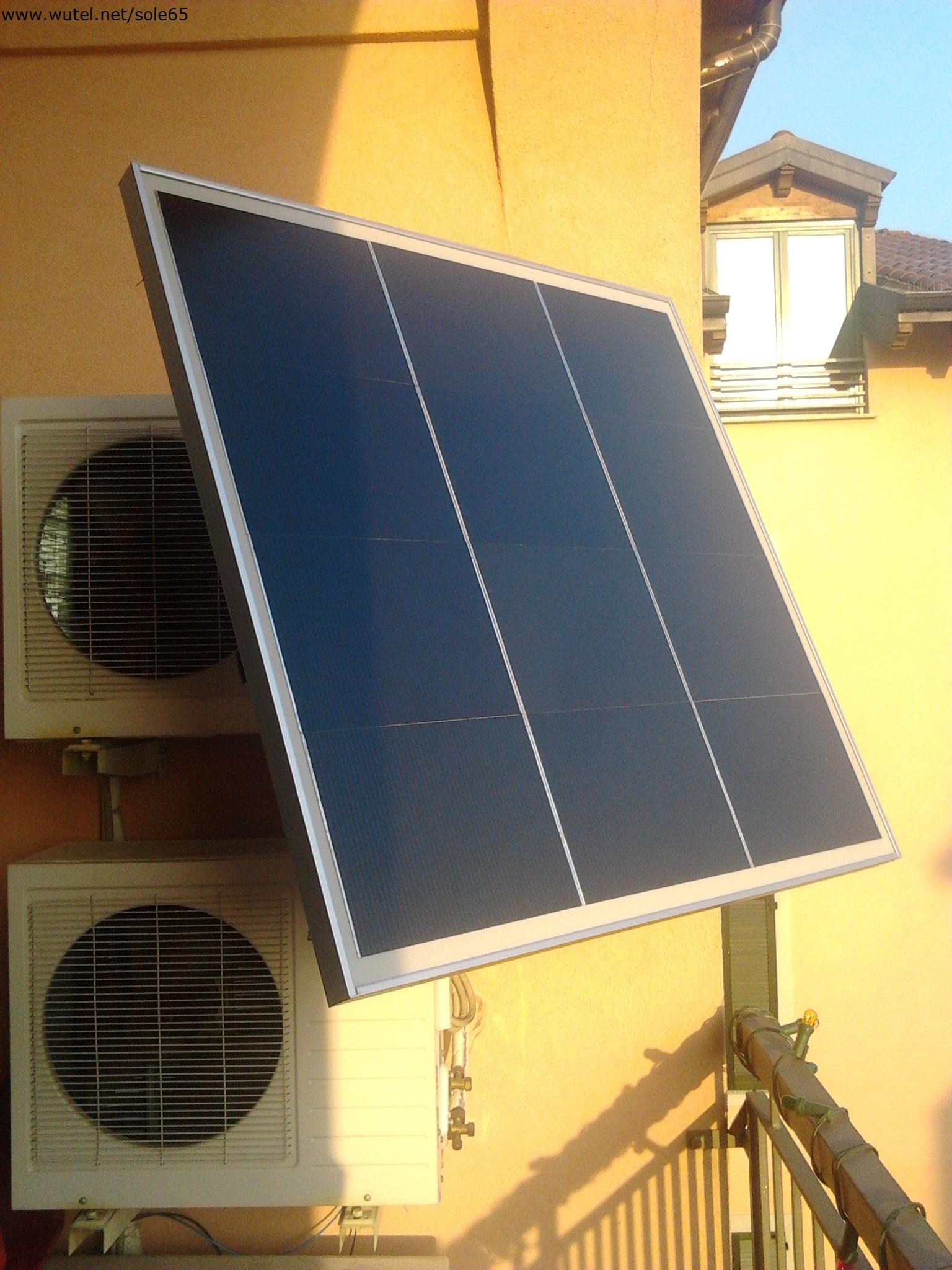 Pannelli Solari Termici Da Balcone www.wutel - fotovoltaico impianti fissi